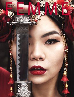 Femme Rebelle Magazine FEBRUARY 2020 - Janina Gold Cover