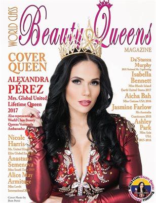 World Class Beauty Queens Magazine issue 49 with Alexandra Pérez