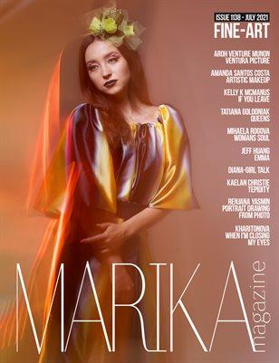 MARIKA MAGAZINE FINE-ART VOL. 1138 - JULY