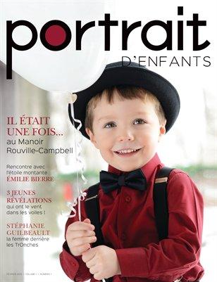 Magazine Portrait d'enfants