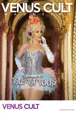 Venus Cult No.49 – Val Va Voom Cover Poster