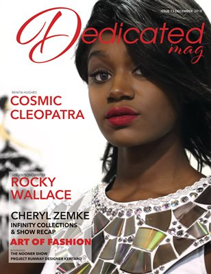 Dedicated Mag December Issue #13 Cosmic Cleopatra