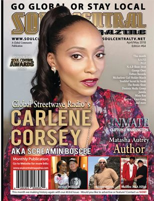 Soul Central Magazine Edition 64 Carlene Corsey