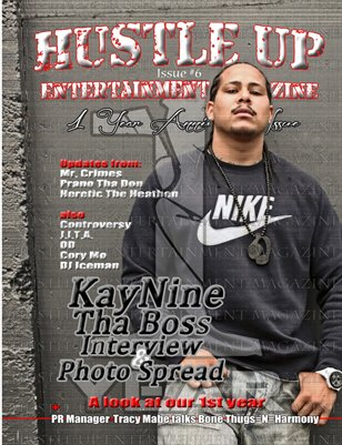 Hustle Up Ent Magazine Issue 6