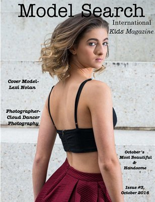 Issue #3 Model Search International Kids Magazine