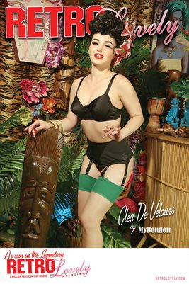 Cover Poster - Clea De Velours