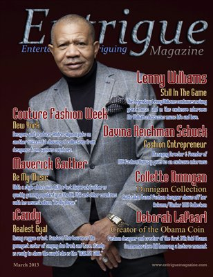 Entrigue Magazine March 2013
