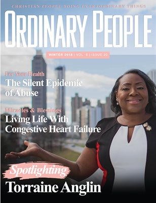 ORDINARY PEOPLE Winter 2018/Vol. 9| Issue 21