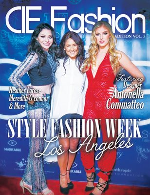 CIE Fashion Magazine StyleFW Special Edition Issue