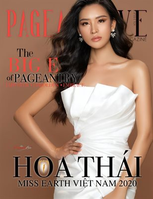 PageantLive Magazine - Hoa Thai Cover