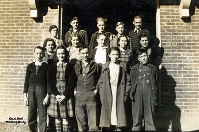 1937-1938 FRESHMAN CLASS, MELBER HIGH SCHOOL, MELBER, GRAVES COUNTY, KENTUCKY