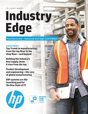 HP Industry Edge: Manufacturing - Industrial & High-Tech Edition