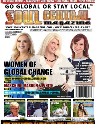 Soul Central Magazine Shellie Hunt Edition #93