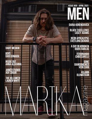 MARIKA MAGAZINE MEN (ISSUE 808 - APRIL)