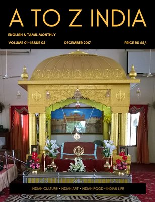A TO Z INDIA - DECEMBER 2017