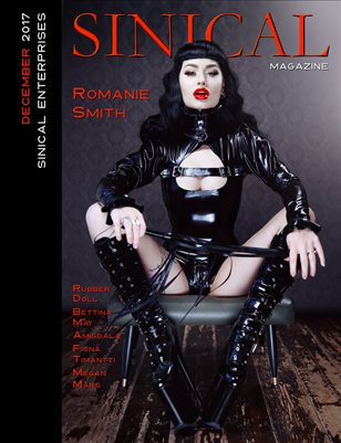 Sinical December 2017 - Romanie Smith cover edition