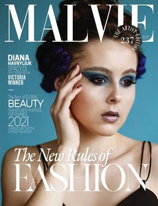 MALVIE Magazine The Artist Edition Vol 237 June 2021