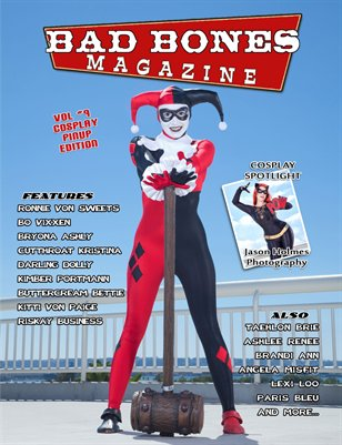 BAD BONES MAGAZINE #9 Cosplay Pinup Edition