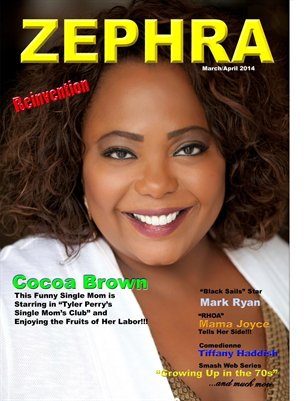 ZEPHRA MAGAZINE:ISSUE #12 COCOA BROWN