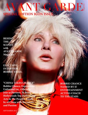 AVANT GARDE Magazine Special Icon Issue with Bobbie Chance 2015