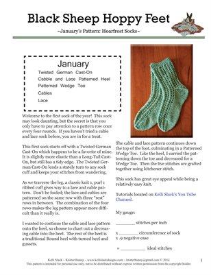Hoarfrost Socks