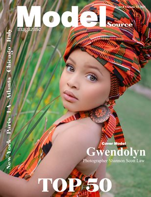 Model Source Magazine issue 8 volume 13 2021 June Face of the Month Top 50