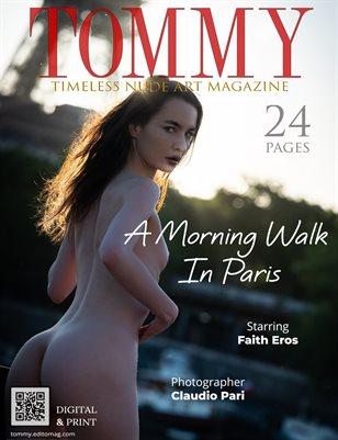Faith Eros - A Morning Walk In Paris - Claudio Pari