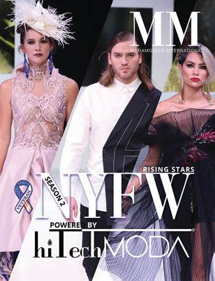 MODAMODELS International Rising Stars Cover