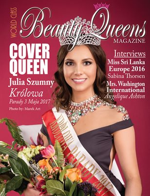 World Class Beauty Queens Magazine with Julia Szumny