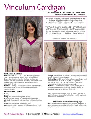 Vinculum Cardigan OUTSIDE