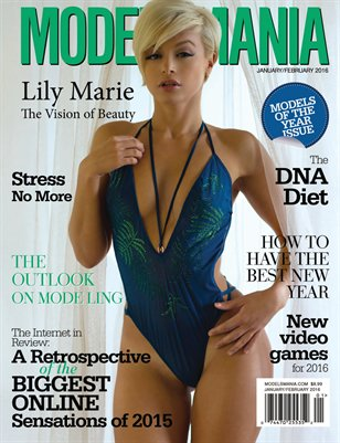 MODELSMANIA JANUARY FEBRUARY 2016 LILY MARIE