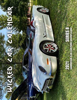 WICKED CAR MAG CALENDAR 2021 SERIES 8 2001 CHEVY CORVETTE