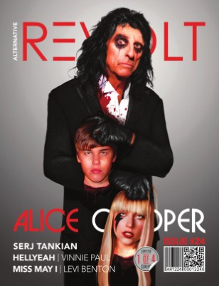 Alt Revolt Mag Issue 24.1 (Alice Cooper) Limited Edition [1 of 4 covers]