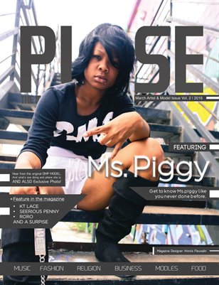 Pulse The Magazine Artist Model issue Vol. 2