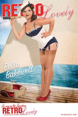Retro Lovely No.176 – Bella Bakewell Cover Poster