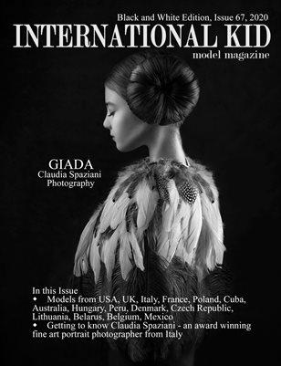 International Kid Model Magazine Issue #67 BW Edition