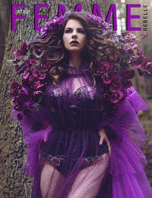 Femme Rebelle Magazine October 2020 - BOOK 2 Elysian Skyes Cover