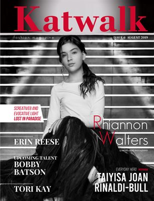 Katwalk Fashion Magazine. Issue 6, August 2019