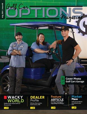 Golf Car Options Magazine - August 2021