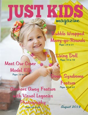 Just kids Magazine August 2013