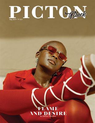 Picton Magazine AUGUST 2019 BLACK N221 Cover 2