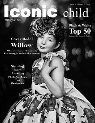 Iconic Child Magazine Issue 7 Volume 7 2021 BW TOP 50
