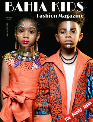 Bahia Kids Fashion Magazine July #1
