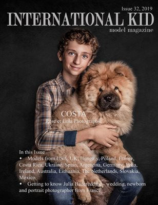 International Kid Model Magazine Issue #32