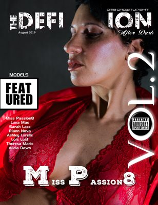 TDM: After Dark Miss Passion8 Cover 1 August 2019