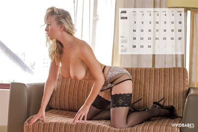 June 2020 Monthly Calendar - Marketa P
