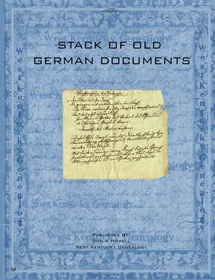 1850'S GERMAN DOCUMENTS