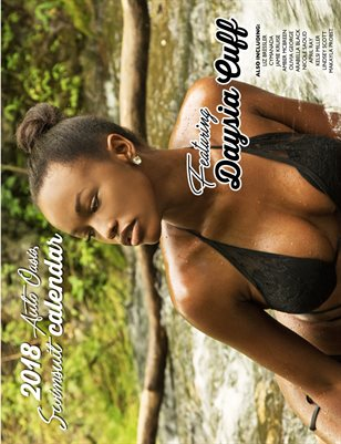 2018 Auto Oasis Swimsuit Calendar feating Daysia