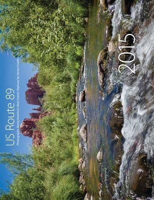2015 US Route 89 Calendar