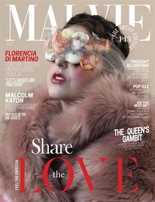 MALVIE Magazine The Artist Edition Vol 143 February 2021